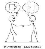 cartoon stick figure drawing... | Shutterstock .eps vector #1339525583