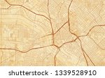 vector city map of dallas on a... | Shutterstock .eps vector #1339528910