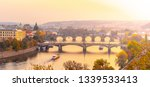 Prague Bridges Over Vltava...