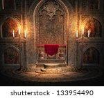 Gothic Altar Interior Background
