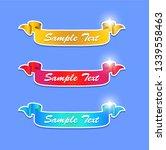 set of ribbons game asset