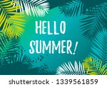 Hello Summer Horizontal Design...