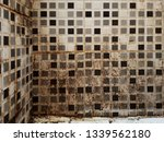 half clean and dirty white wall ... | Shutterstock . vector #1339562180