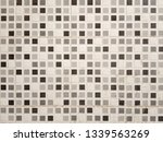 clean white wall from tile | Shutterstock . vector #1339563269