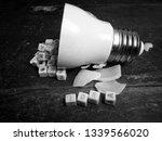 illustration  stuck idea  text... | Shutterstock . vector #1339566020