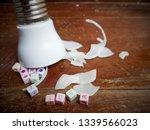 illustration  stuck idea  text... | Shutterstock . vector #1339566023