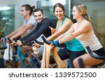 group positive working out of... | Shutterstock . vector #1339572500