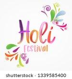 holi   festival of colors. ...   Shutterstock .eps vector #1339585400