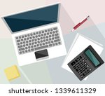 vector illustration of objects... | Shutterstock .eps vector #1339611329
