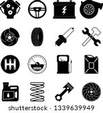 a set of 16 vector color icons... | Shutterstock .eps vector #1339639949