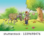 ali baba and the forty thieves | Shutterstock . vector #1339698476