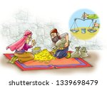 ali baba and the forty thieves | Shutterstock . vector #1339698479