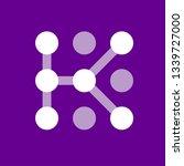 letter k logo icon design... | Shutterstock .eps vector #1339727000