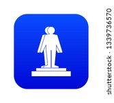 3d model of a man icon digital...   Shutterstock . vector #1339736570
