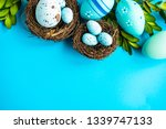 easter holiday card concept... | Shutterstock . vector #1339747133