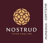 abstract flower swirl logo icon ...   Shutterstock .eps vector #1339773749
