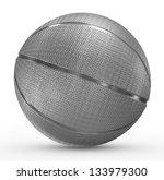 basketball metal | Shutterstock . vector #133979300