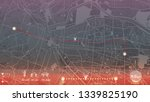 design gps map city el paso.... | Shutterstock .eps vector #1339825190