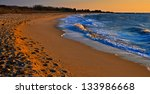 Evening Light On Sunset Beach ...