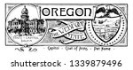 the state banner of oregon the... | Shutterstock .eps vector #1339879496