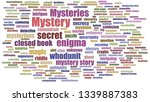 Mystery Word Cloud Neatly On...