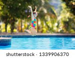 child jumping and diving in...   Shutterstock . vector #1339906370
