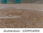 Low Angle View Of Baseball...