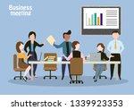 business meeting set   Shutterstock .eps vector #1339923353