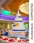 banquet wedding cake    Shutterstock . vector #1339933766