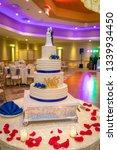 banquet wedding cake   Shutterstock . vector #1339934450