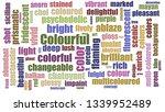 Colourful Wordcloud Randomised...