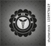 caduceus medical icon inside...   Shutterstock .eps vector #1339978619