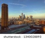 Beautiful London Sunset As See...