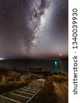 The Milky Way Rising Over The...