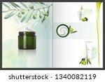 design cosmetics product... | Shutterstock . vector #1340082119
