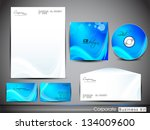 professional corporate identity ... | Shutterstock .eps vector #134009600