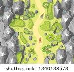 vector illustration. landscape...   Shutterstock .eps vector #1340138573