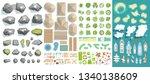 vector set. summer vacation.... | Shutterstock .eps vector #1340138609