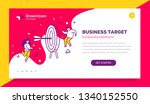 vector business template with... | Shutterstock .eps vector #1340152550