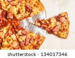 Hawaiian Pizza Piece