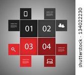 infographic design | Shutterstock .eps vector #134022230