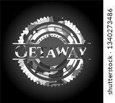 getaway on grey camo pattern | Shutterstock .eps vector #1340273486