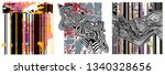 set of design elements abstract ...   Shutterstock .eps vector #1340328656