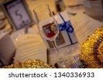 wedding banquet table setting   Shutterstock . vector #1340336933