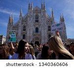 milano  italia   march 15 2019  ... | Shutterstock . vector #1340360606