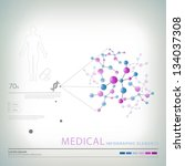 medical infographic elements | Shutterstock .eps vector #134037308