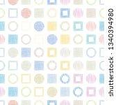 seamless vector pattern ... | Shutterstock .eps vector #1340394980