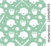vector seamless pattern with... | Shutterstock .eps vector #1340469053