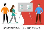 vector illustration with people ... | Shutterstock .eps vector #1340469176