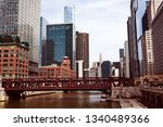 river and cityscape view from... | Shutterstock . vector #1340489366